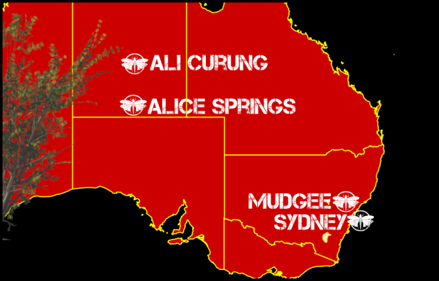 Australie déco