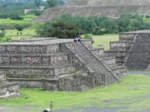 Mexico Pyramide lune