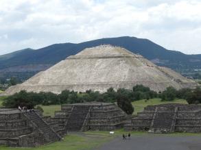 Mexico Pyramide soleil